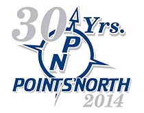 Points North 30 Years